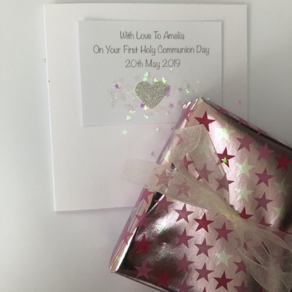 Holy Communion gift for a Goddaughter- FREE ENGRAVING
